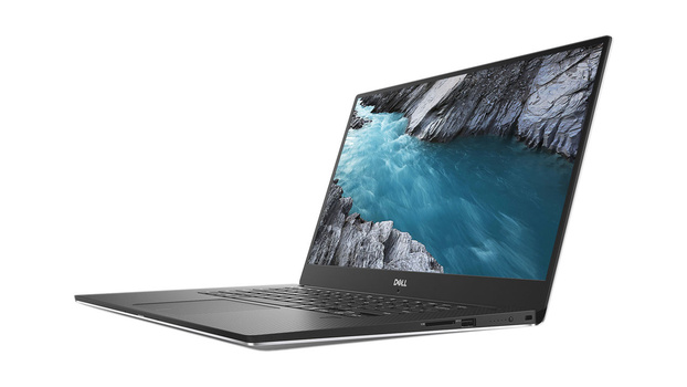 Dell XPS 15 9570 side view
