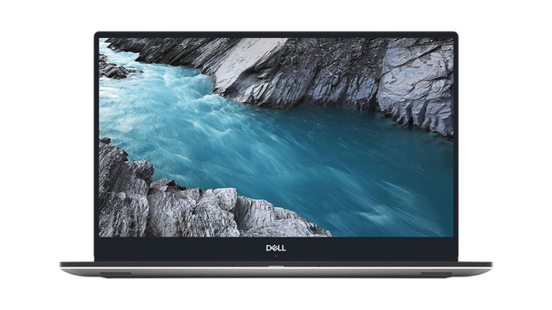 Dell XPS 15 laptop front view