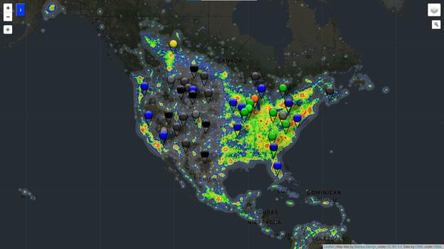 Dark site finder website
