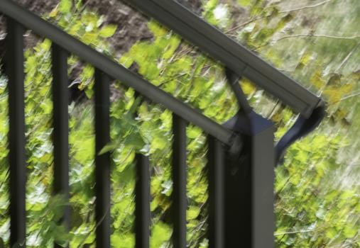 a handheld photo, five shutter stops below sharpness