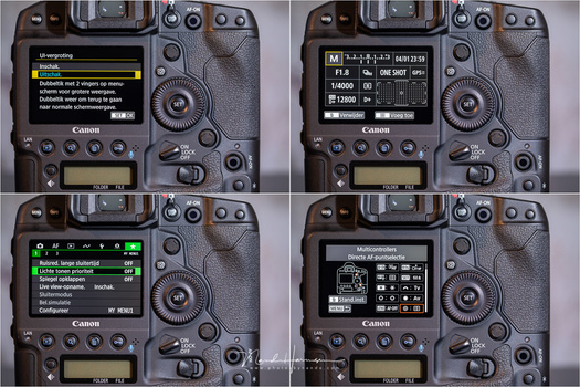 Besides the auto focus, you can customize everything about the Canon EOS 1Dx mark III