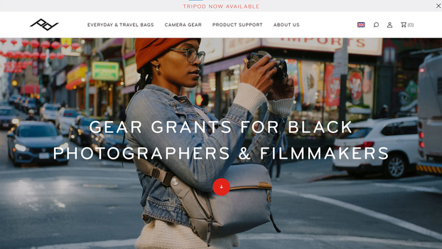 Gear grants from peak design website