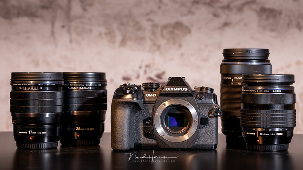 The Olympus set I could use for almost a month
