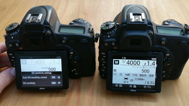 Synchronize camera settings