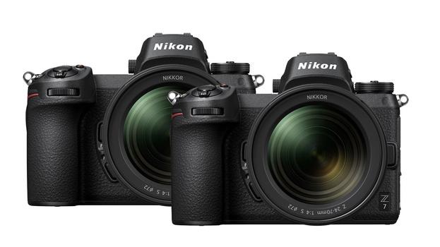 Two Nikon Z 7 cameras