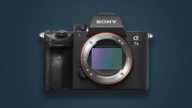 Sony mirrorless camera body