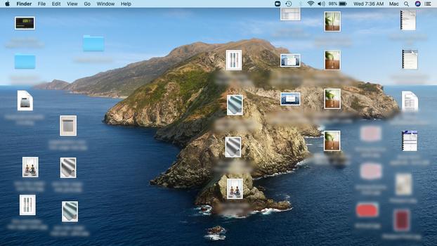 Stop storing files on desktop