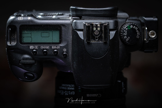 Although the Canon EOS 20D is 15 year old, the button layout isn't that much different compared to modern cameras