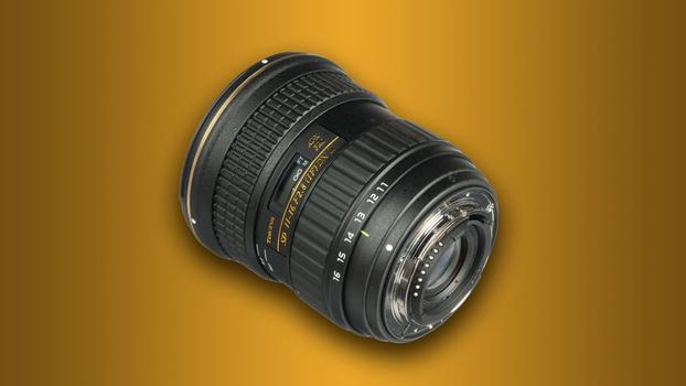 Tokina 11-16mm ultra-wide angle lens