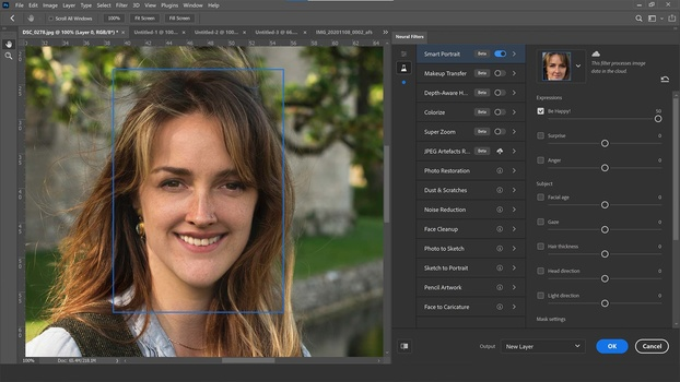 Portraits going awry in photoshop