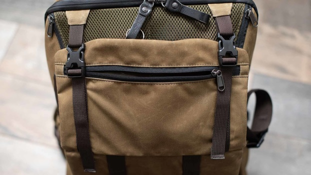 Zip length on bag