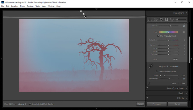 Did you ever wonder if your post-processing could be done in another way? Just try it out.