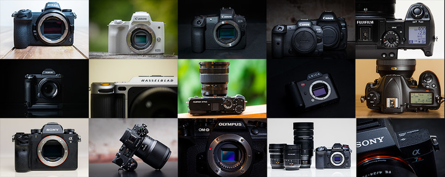 Without going into discussion about camera brands, modern cameras do have amazing high dynamic range capabilites. It even exceeds the capabilities of our eyes. This is a selection of the cameras I have reviewed up to now.