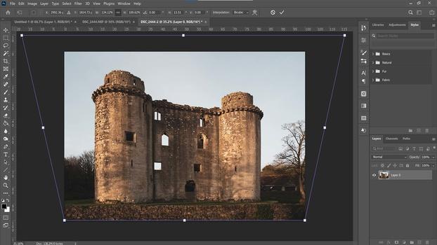 Photoshop CC doing it manually