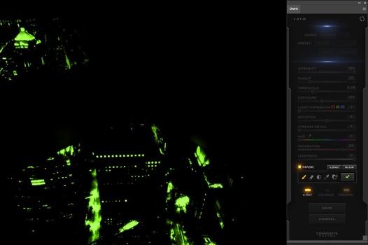 oniric xray example - Create a Metropolis Glow With the Oniric Plugin