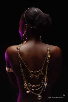 Untitled Chained #1 by Mawuli Tofah