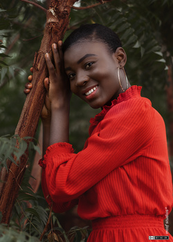 Red & Brown by Mawuli Tofah