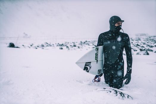 Frozen Surfer