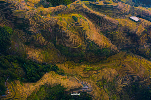 Guilin From Above by Win Mag