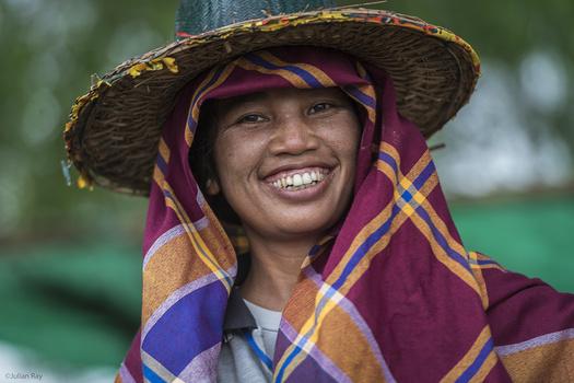The ubiquitous Myanmar smile