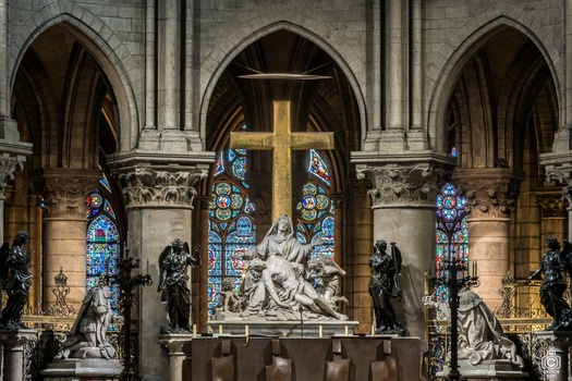 Nortre Dame Cathedral Alter