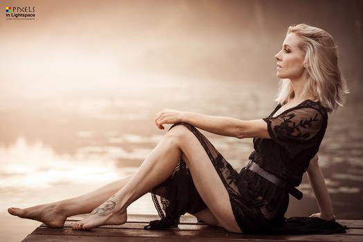 The Blonde by Mladen Dakic