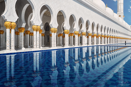 Geometric Solitude [Abu Dhabi, UAE]