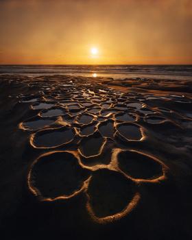 Golden West Coast Light by Lucho J Torres