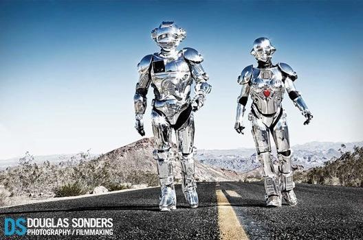 Robots in the Nevada Desert