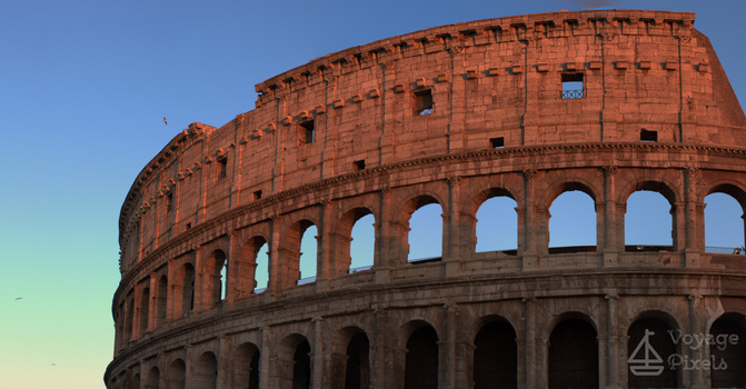 Sunsets on the Coliseo