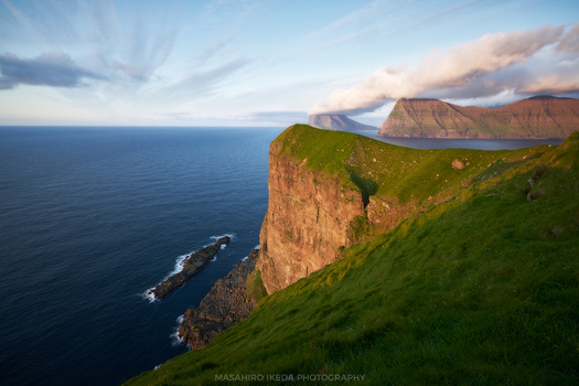 Summer evening in Kalsoy by Masahiro Ikeda
