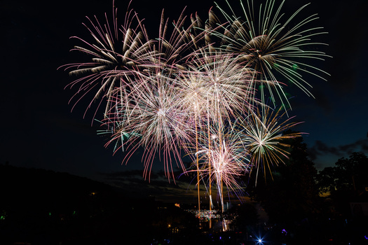 Big Cedar Lodge Fireworks 2014