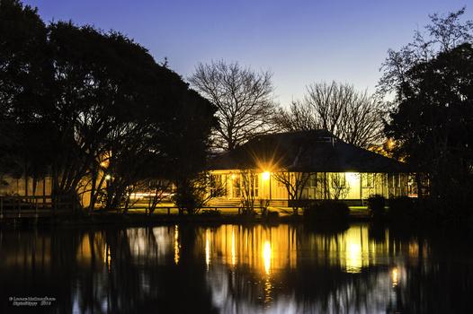 Lights across the lake