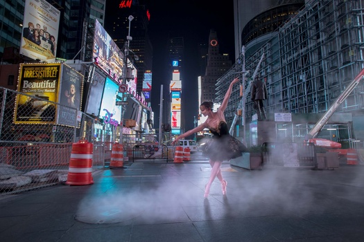 NYC Times Square Ballerina
