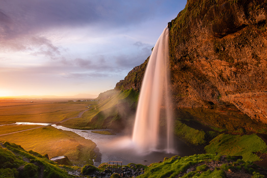 The Golden Falls by Donald Yip