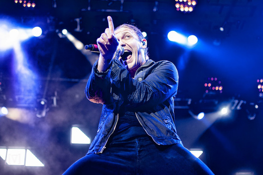 Brent Smith of Shinedown by Mike Victorick