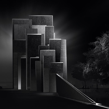 Oasis of Dignity (Memorial) by Saajan Manuvel