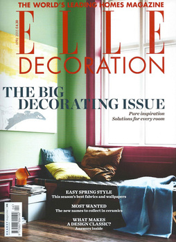 Elle Decoration UK Cover