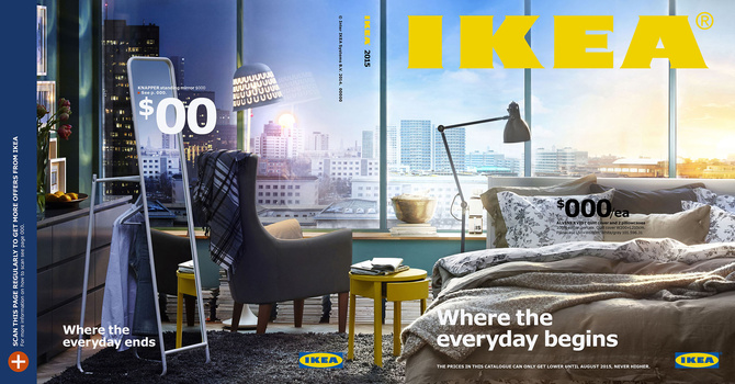Ikea catalog 2015 cover