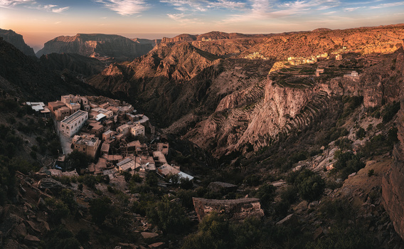 The Valley - Jebel Akhdar, Oman by Jean Claude Castor