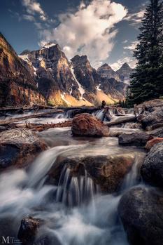Cascading Dreams by Manuel Estacio