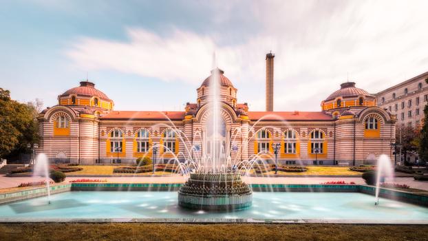 Central Mineral Baths | Sofia, Bulgaria by Nico Trinkhaus