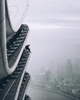 Up above Shanghai!