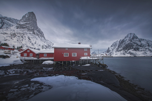 winter in lofoten by alfonso maseda varela