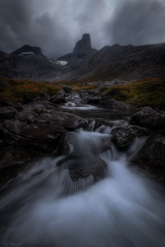 Autumn in the mountains in Norway by Roger Kristiansen