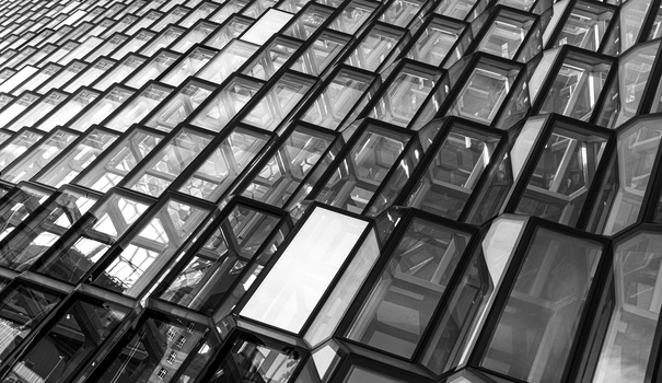 Harpa Concert Hall by Dylan Zoebelein