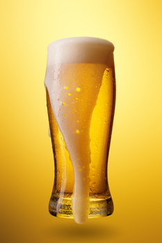 A Glass of Beer by Miha Me