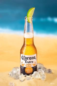 Extra refreshing Corona Extra by Miha Me