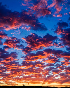 African Sunrise by Scott kirkbride