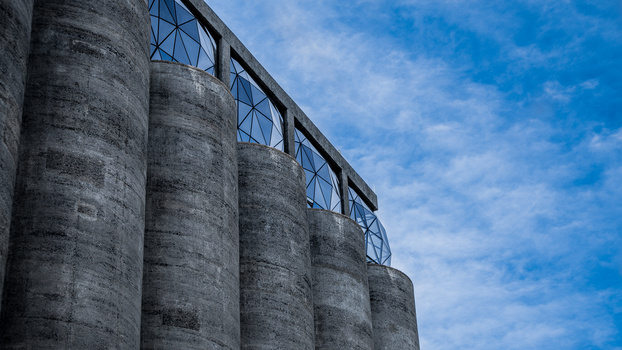 silo district by Scott kirkbride
